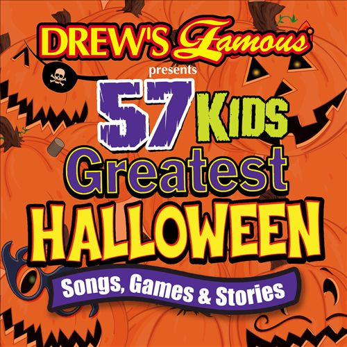 Drew's Famous 57 Kids Greatest Halloween Songs, Games & Stories