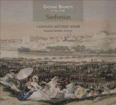 Gaetano Brunetti: Sinfonías