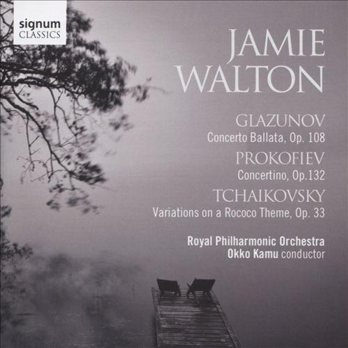 Glazunov: Concerto Ballata, Op. 108; Prokofiev: Concertino, Op. 132; Tchaikovsky: Variations on a Rococo Theme, Op. 33