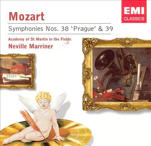 Mozart: Symphonies Nos. 38 'Prague' & 39