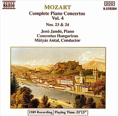 Mozart: Piano Concertos Nos. 23 & 24