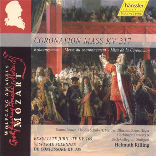 Mozart: Coronation Mass, KV 317