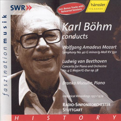 Karl Böhm Conducts Mozart & Beethoven