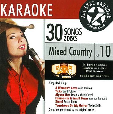 Karaoke: Mixed Country, Vol. 10