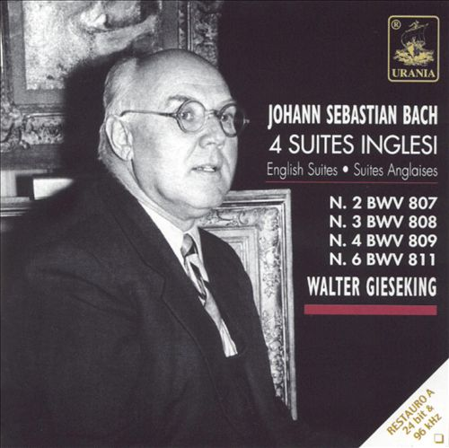 Bach: 4 English Suites