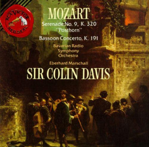 Mozart: Serenade No. 9, K320; Bassoon Concerto, K191