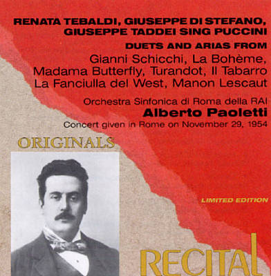 Three Opera Stars Sing Puccini