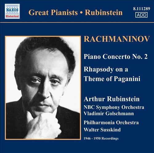 Rachmaninov: Piano Concerto No. 2; Rhapsody