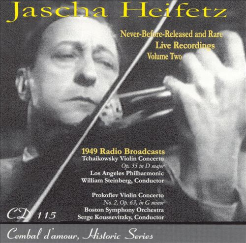 Jascha Heifetz, Vol. 2