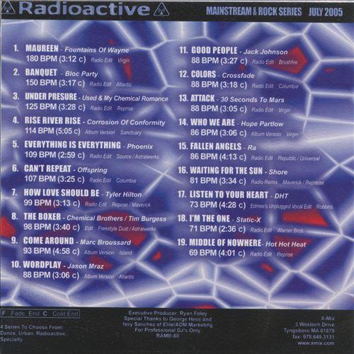 Radioactive: Mainstream & Rock Series (July 2005)