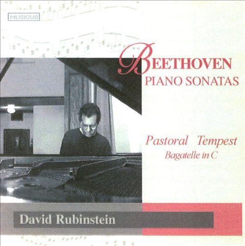 Beethoven: Pastoral & Tempest Sonatas; Bagatelle in C