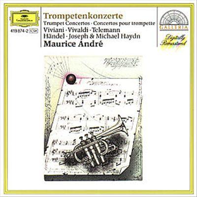Trumpet Concertos by Viviani, Vivaldi, Telemann. Händel, J. Haydn & M. Haydn [Germany]