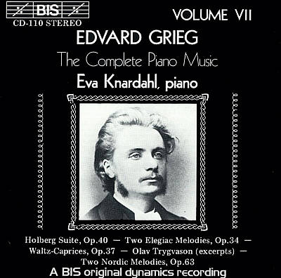 Grieg: The Complete Piano Music, Vol. 7