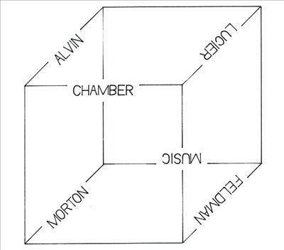 Alvin Lucier, Morton Feldman: Chamber Music