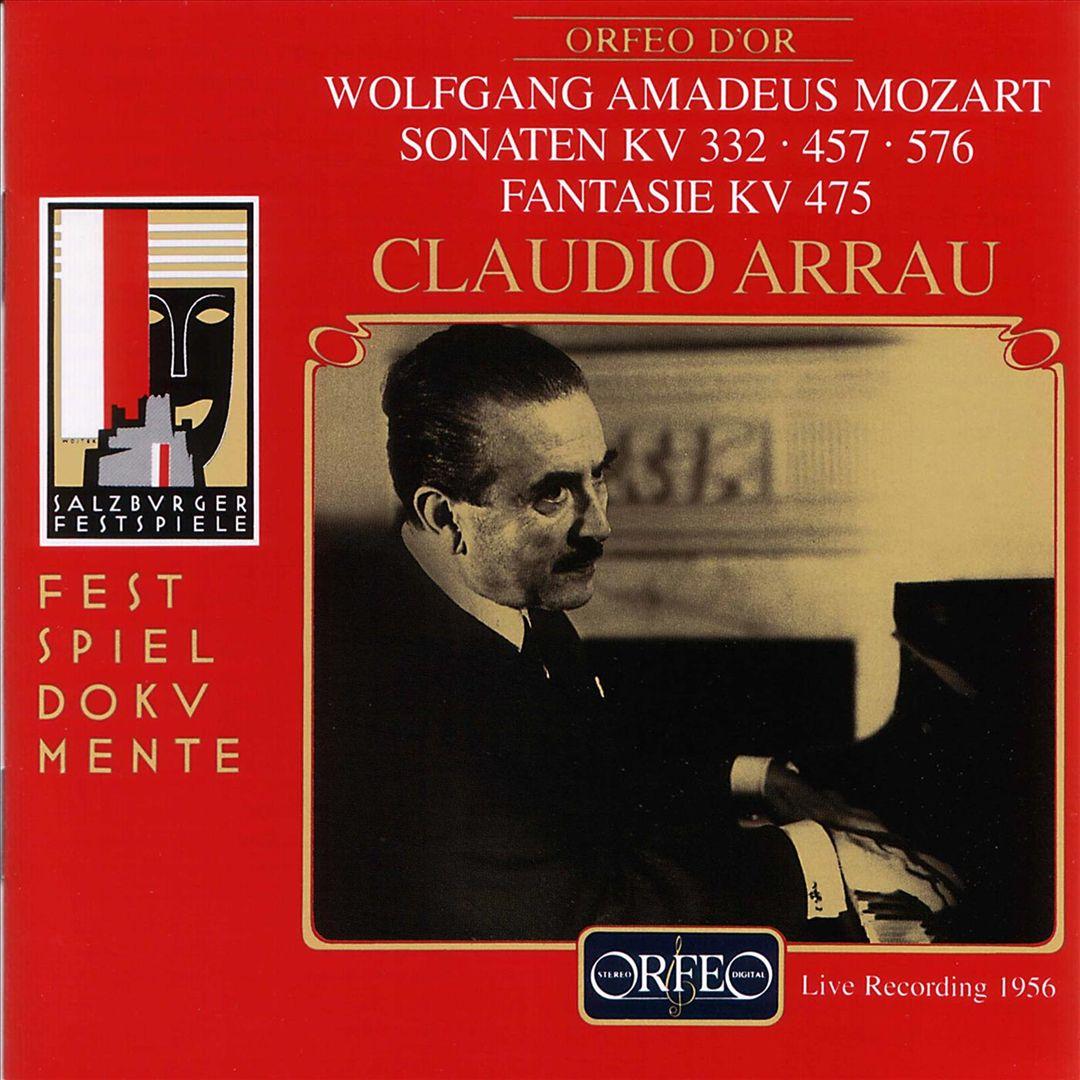 Wolfgang Amadeus Mozart: Sonaten KV 332, 457, 576; Fantasie KV 475