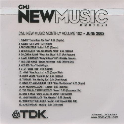 CMJ New Music, Vol. 102
