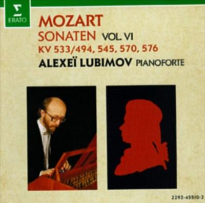 Mozart: Sonaten, Vol. 6 - KV 533/494, 545, 570, 576
