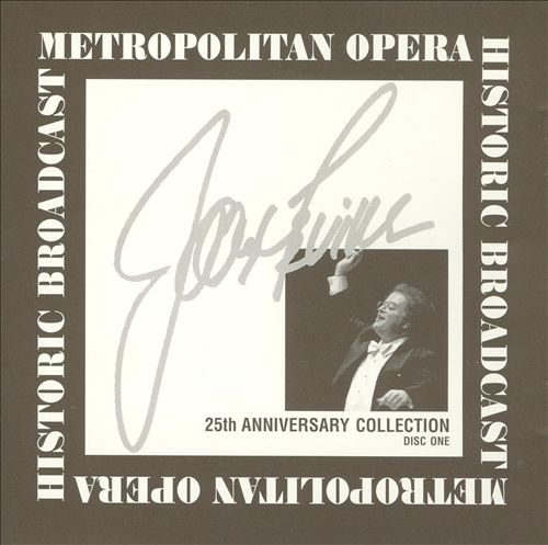 James Levine Anniversary Collection 1971-1996, Disc One