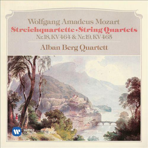 Wolfganag Amadeus Mozart: Streichquartette Nr. 18 KV 464 & Nr. 19 KV 465 [1977]