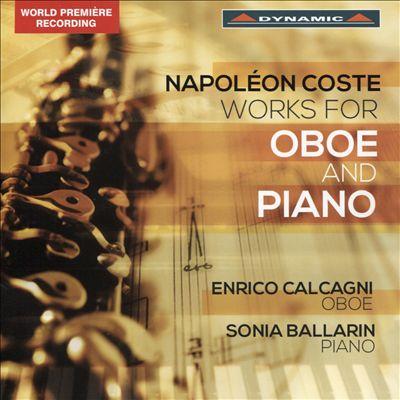 Napoléon Coste: Works for Oboe & Piano