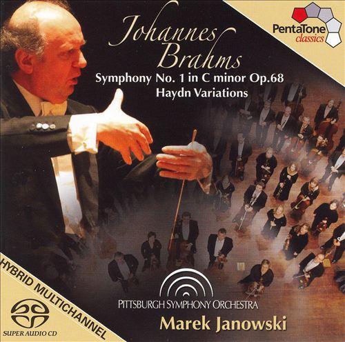 Brahms: Symphony No. 1 in C minor; Haydn Variations