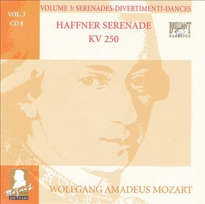 Mozart: Complete Works, Vol. 3 - Serenades, Divertimenti, Dances, Disc 8