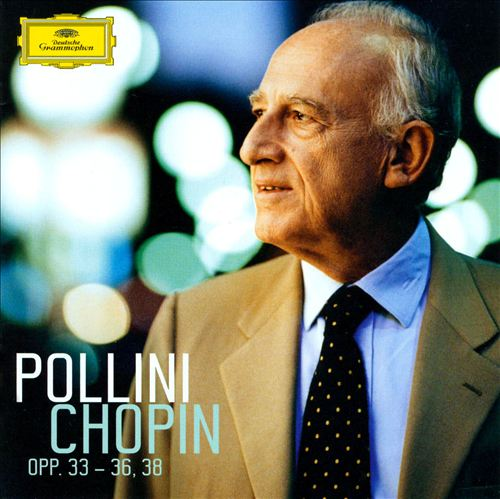 Pollini Plays Chopin, Opp. 33-36 & 38