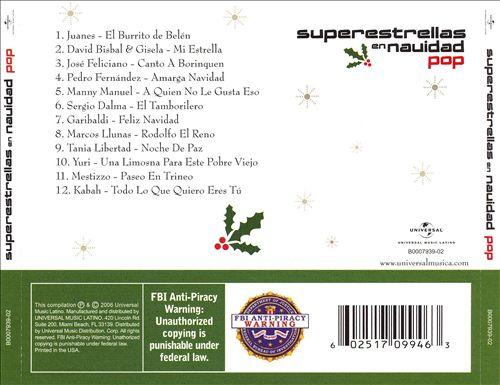 Superestrellas en Navidad Pop