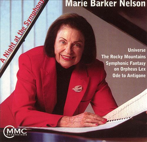 Marie Barker Nelson: A Night at the Symphony
