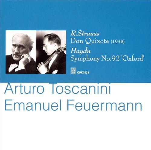 R. Strauss: Don Quixote; Haydn: Symphony No. 32 'Oxford'