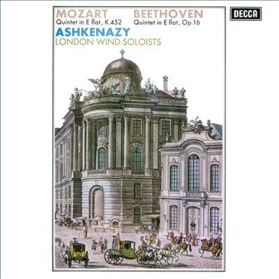 Mozart: Quintet in E flat, K.452; Beethoven: Quintet in E flat, Op. 16