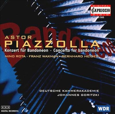 Piazzolla: Concerto for Bandoneon