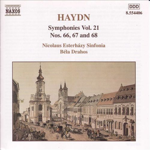 Haydn: Symphonies, Vol. 21 - Nos. 66 - 68