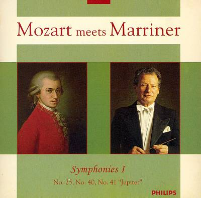 Mozart Meets Marriner: Symphonies, Vol. 1