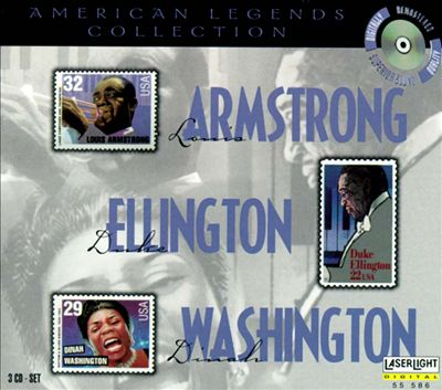 American Legends: Armstrong Washington & Ellington