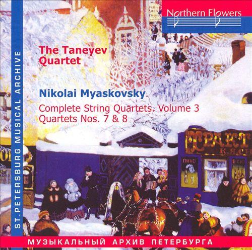Myaskovsky: String Quartets Nos. 7 & 8