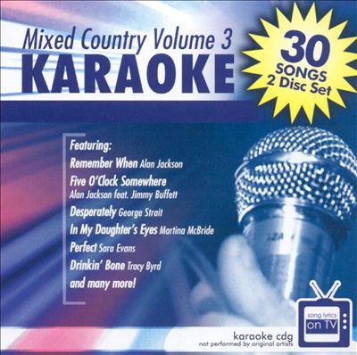 Karaoke: Mixed Country, Vol. 3