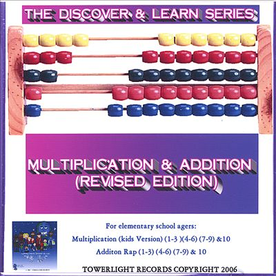 Discover & Learn Series: Multiplication & Addition (Revised Edition)