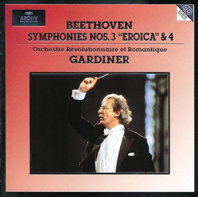 "Beethoven: Symphonies Nos.3 ""Eroica"" & 4"