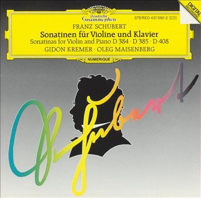 Schubert: Sonatas for Violin & Piano