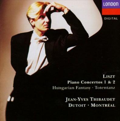 Liszt: Piano Concertos Nos. 1 & 2; Hungarian Fantasy; Totentanz