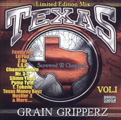 Texas Grain Gripperz, Vol. 1 [Screwed & Chopped]