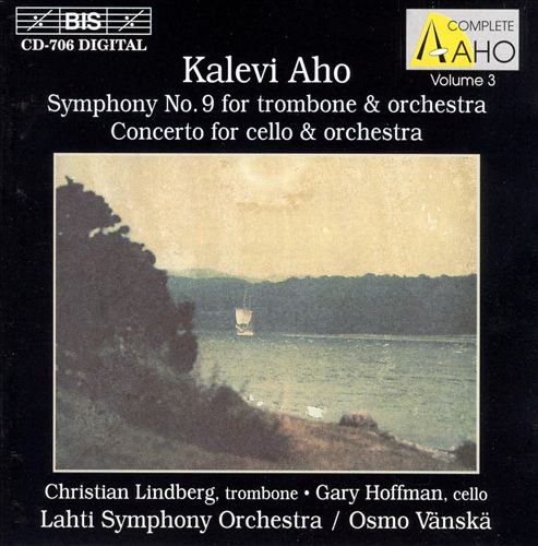 Aho: Symphony No.9; Cello Concerto