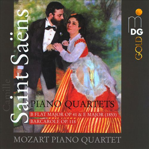 Saint-Saëns: Piano Quartets