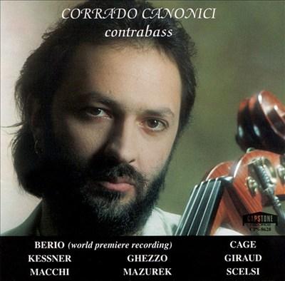 Corrado Canonici: Contrabass