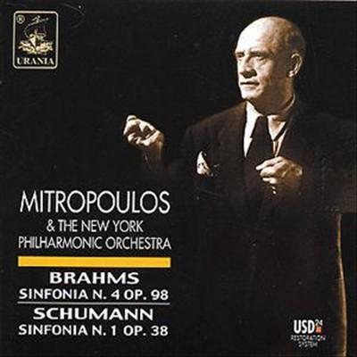 Brahms: Sinfonia N. 4 Op. 98; Schumann: Sinfonia N. 1 Op. 38