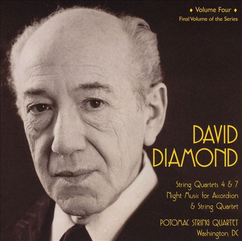 David Diamond: String Quartets, Vol. 4