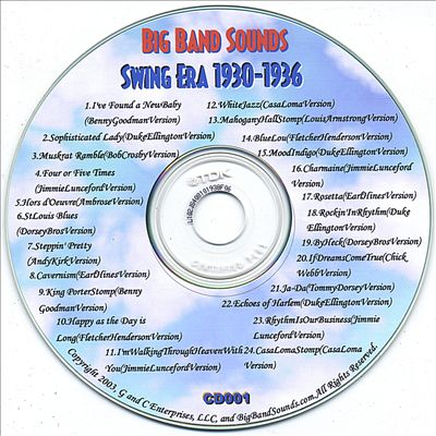 Big Band Sounds: Swing Era 1930-1936