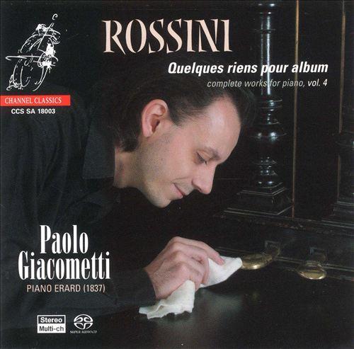 Rossini: Quelques riens pour album