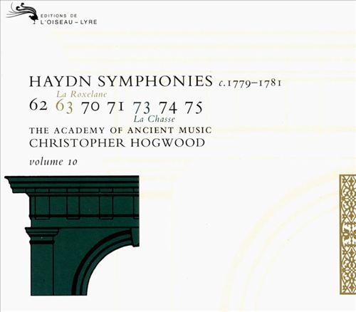 Haydn: Symphonies, Vol. 10